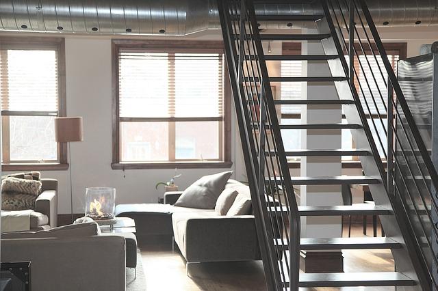 schody v bytě