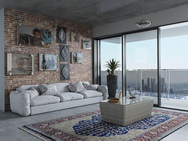 byt – obývací pokoj